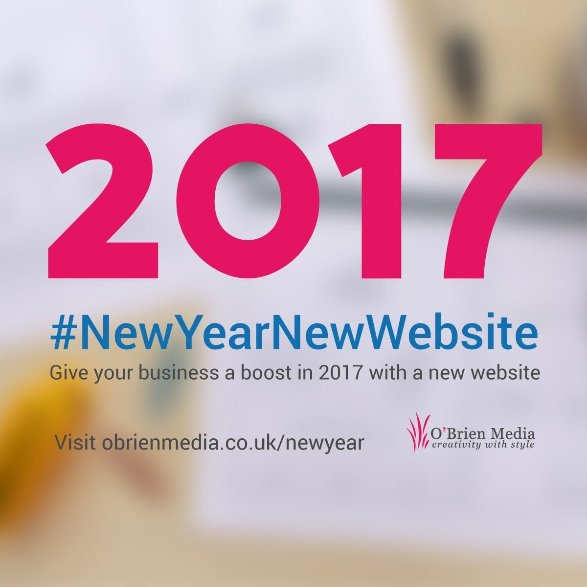 If you'd like a free appraisal of your website, with advice on how it could be improved and a no-obligation quote to bring it up to date just drop us a line on hello@obrienmedia.co.uk or call freephone 0800 327 7540 (or 01793 230654 if you prefer!).