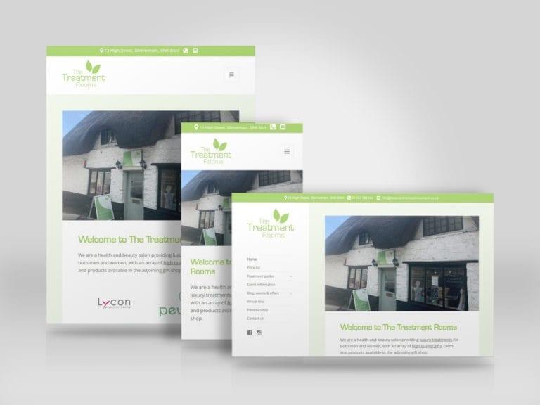 Mobile friendly business website for The Treatment Rooms Shrivenham.jpg