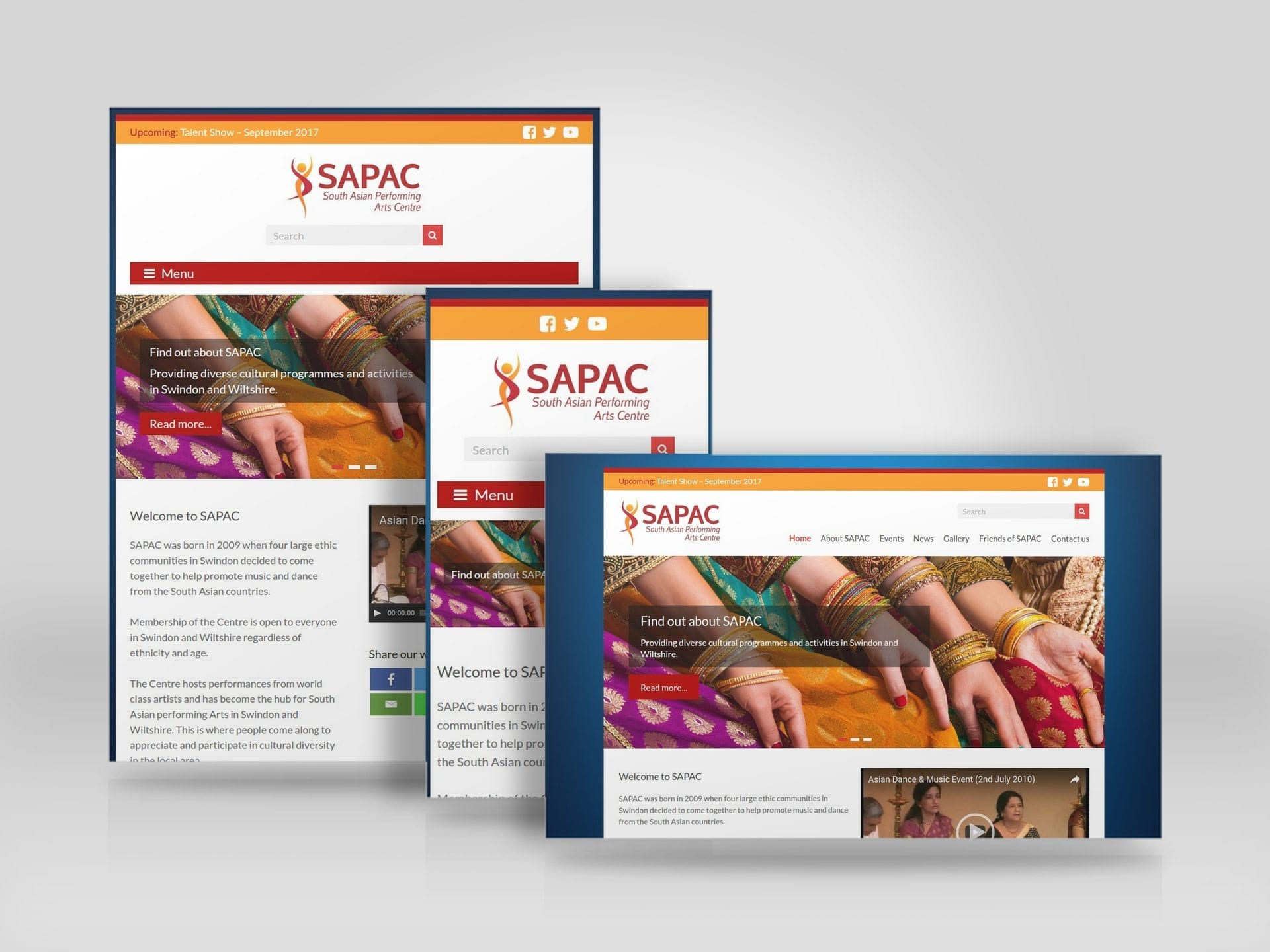 Mobile friendly responsive website for South Asian Performing Arts Centre.jpg