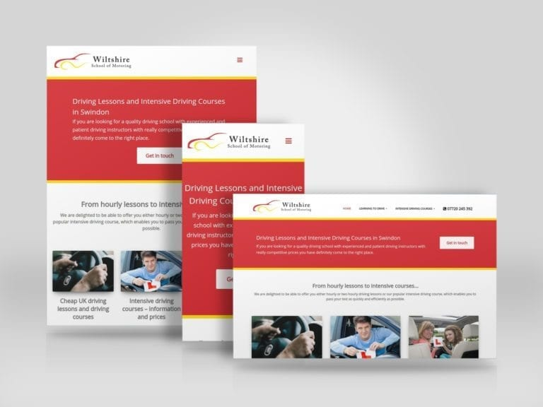 Mobile friendly website refresh and redesign for Wiltshire School of Motoring.jpg