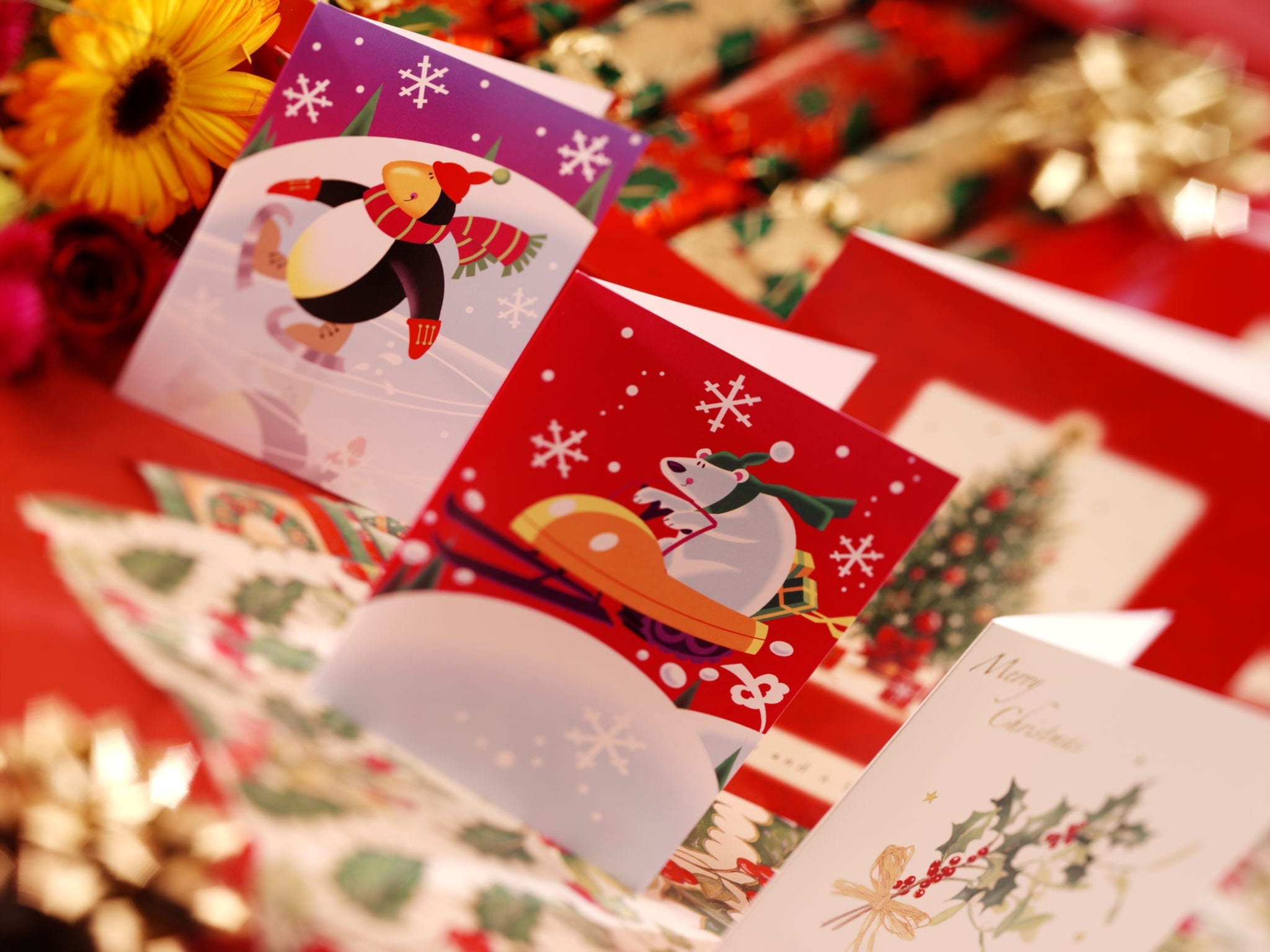 Business Christmas cards - are your competitors taking the lead? • O ...