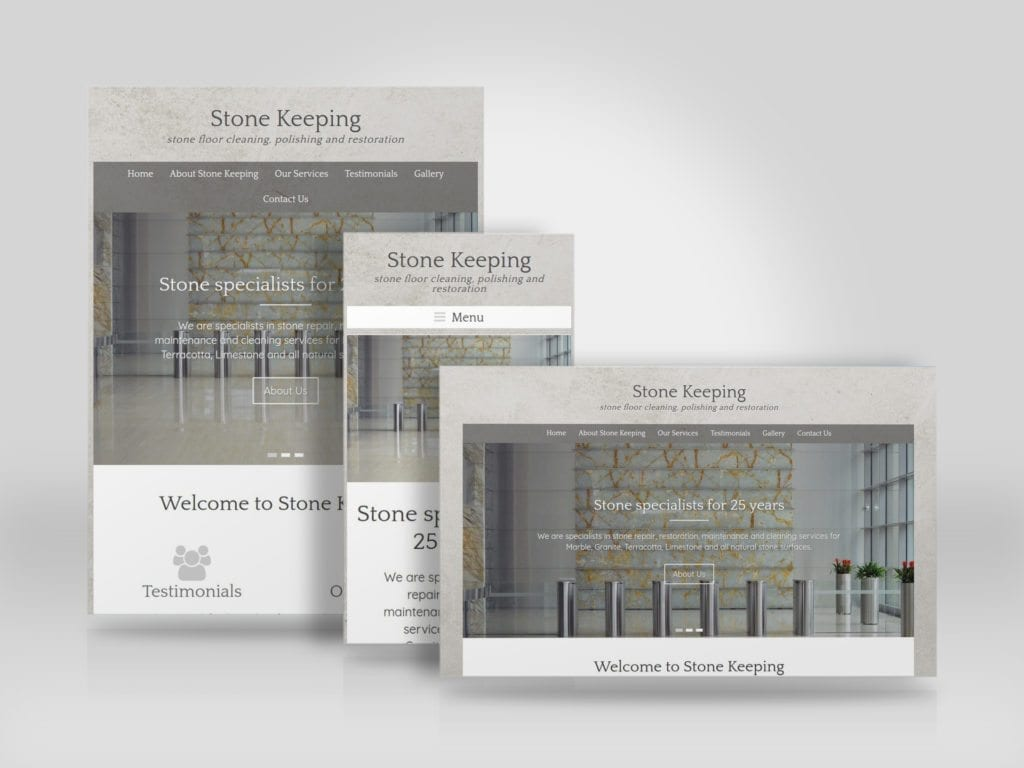 Mobile friendly website for Stone Keeping by Stonetech Flooring Ltd.jpg