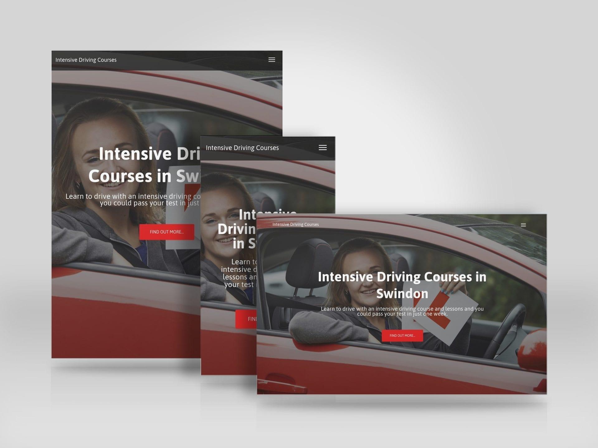 lead generation website for Wiltshire School of Motoring.jpg