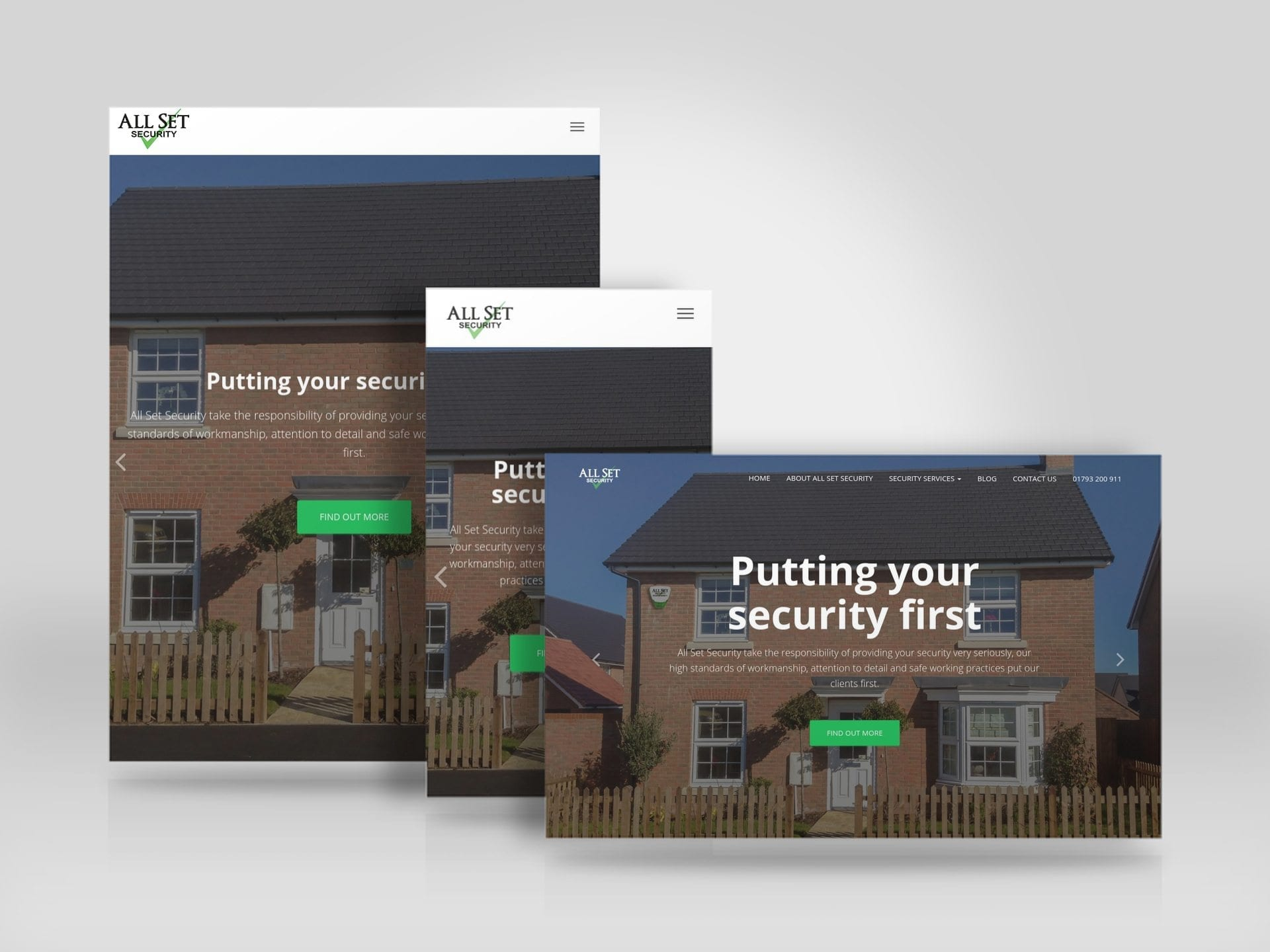Responsive, mobile friendly, business website for All Set Security Ltd.jpg